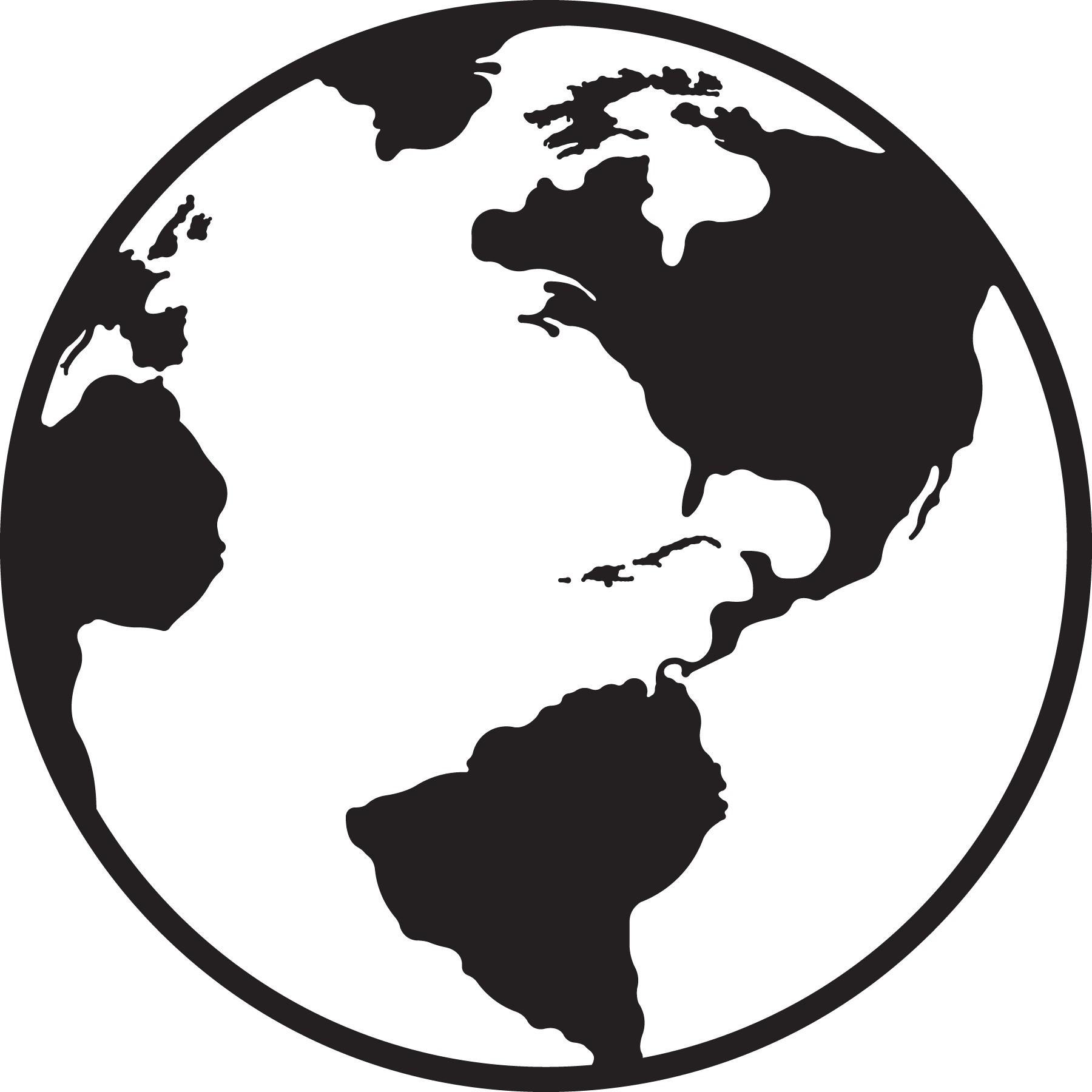 Best Vector Globe Clip Art Drawing » Free Vector Art, Images.