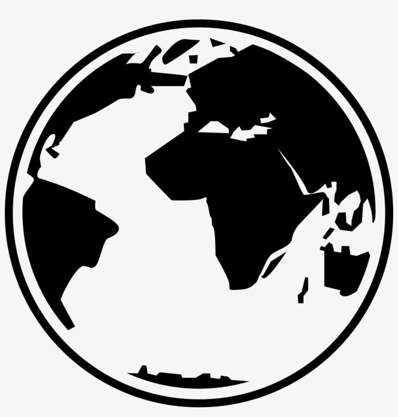 Globe Black And White Free Globe Clipart Black And.