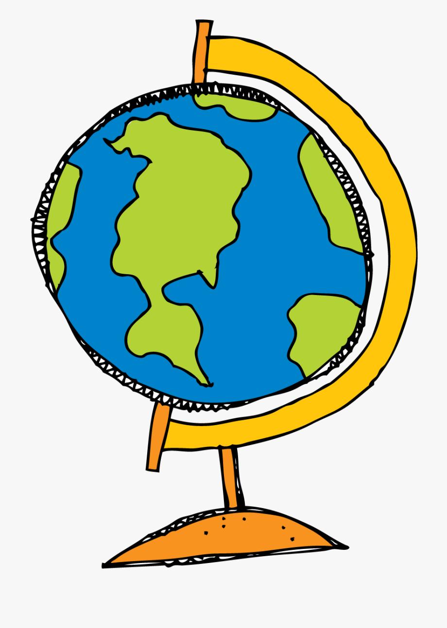 Globe Clipart Melonheadz.