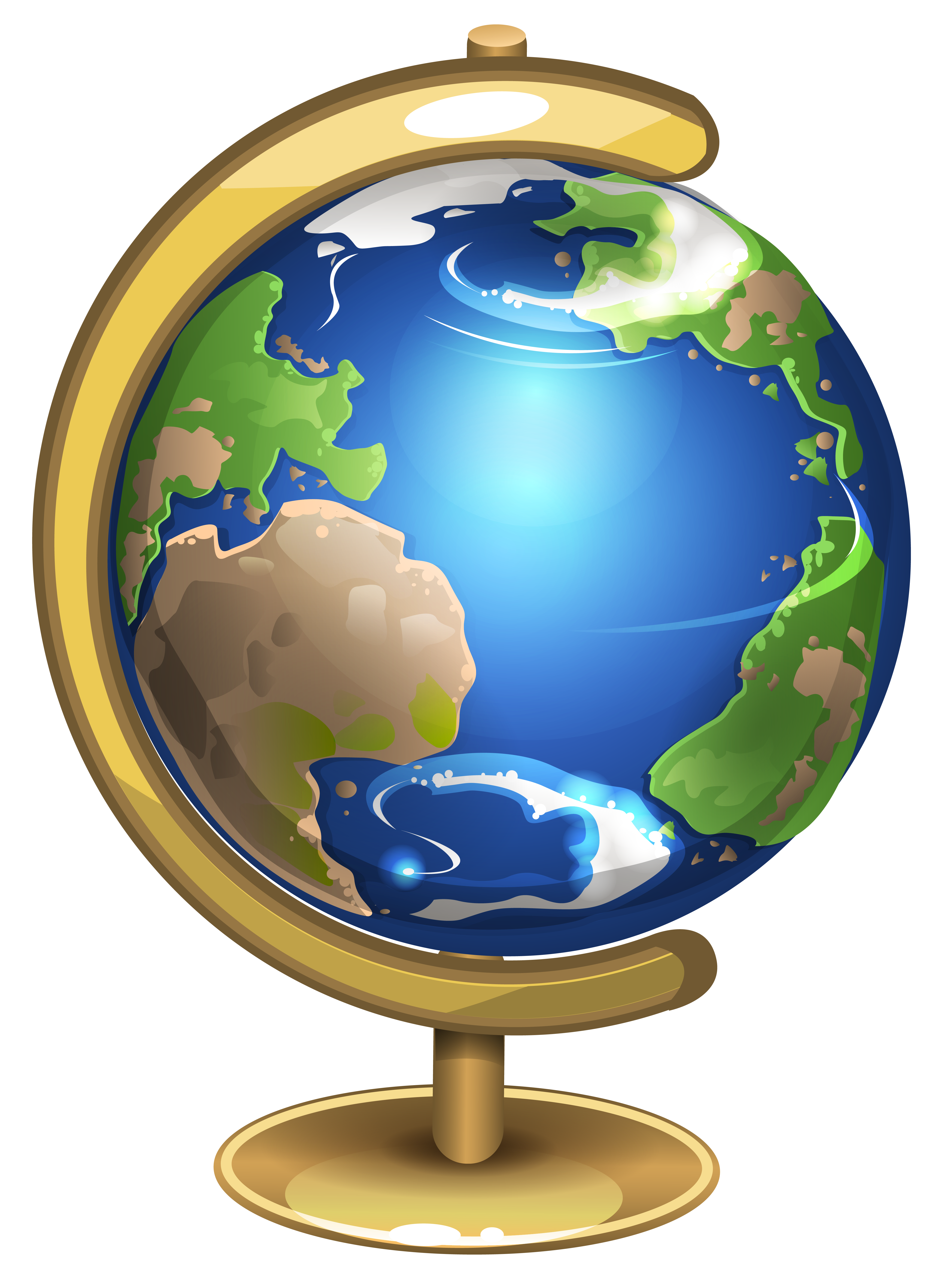 School Globe PNG Clipart Picture.
