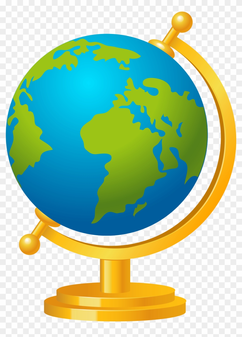 Transparent Background World Globe Clipart, HD Png Download.