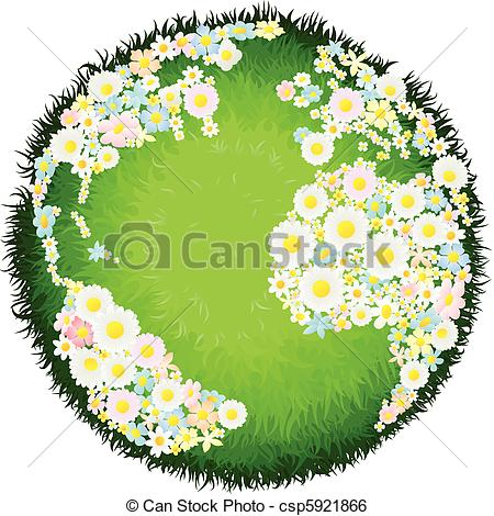 Globe flower Clipart Vector Graphics. 2,720 Globe flower EPS clip.