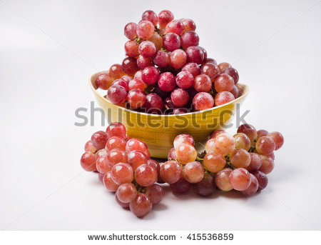 Red Globe Grapes Stock Images, Royalty.