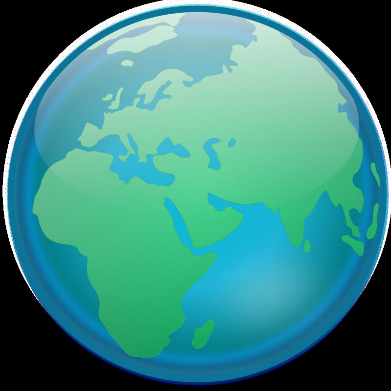 Free Clipart: Globe.