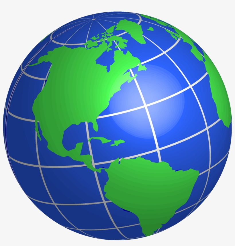 Globe Clipart Transparent Background.