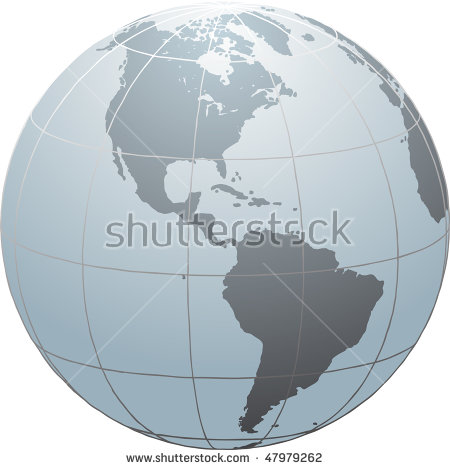 Globe Equator Stock Images, Royalty.
