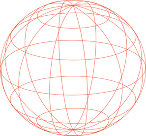 Globe Outline Clip Art at Clker.com.