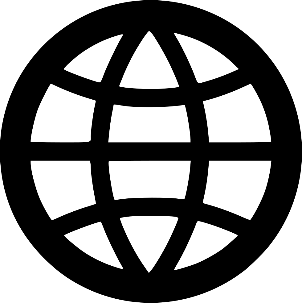 Globe Outline Svg Png Icon Free Download (#556103).