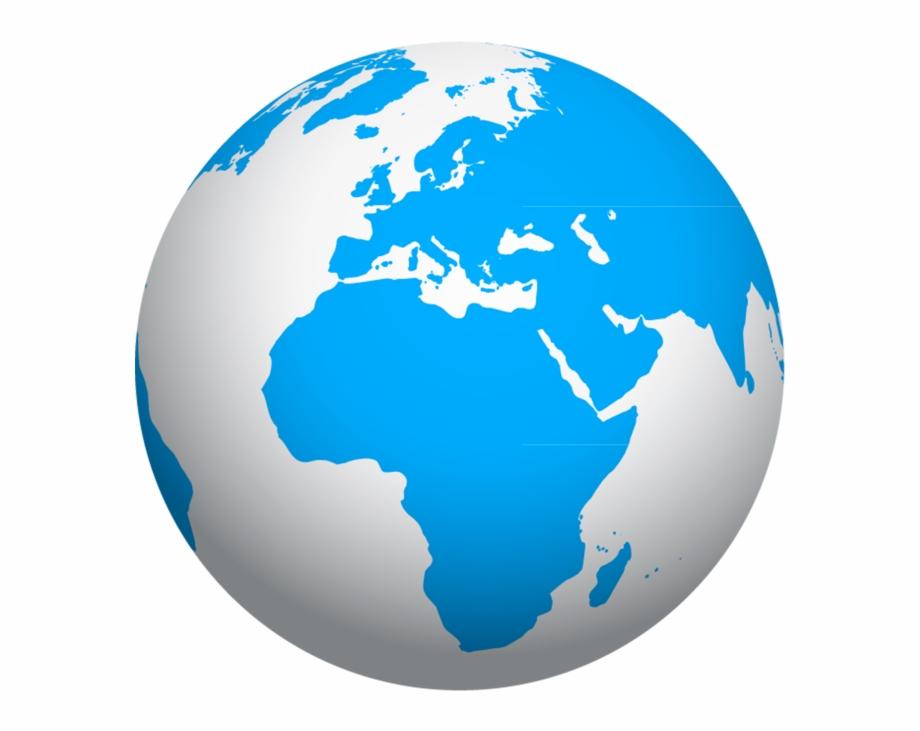 World Globe Png Transparent Image.