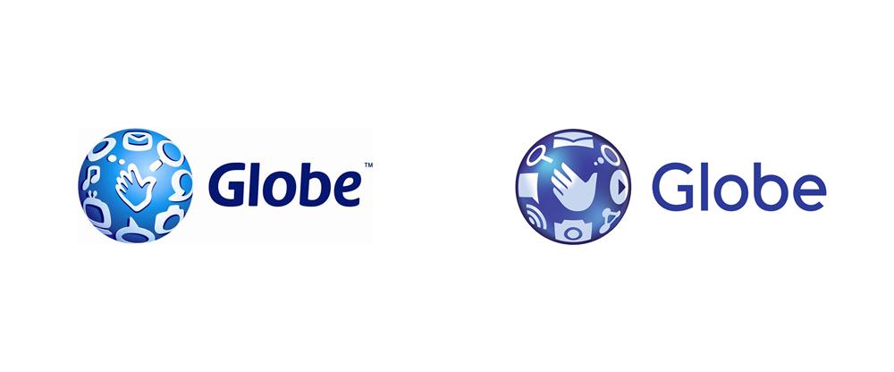 Brand New: New Logo for Globe Telecom.