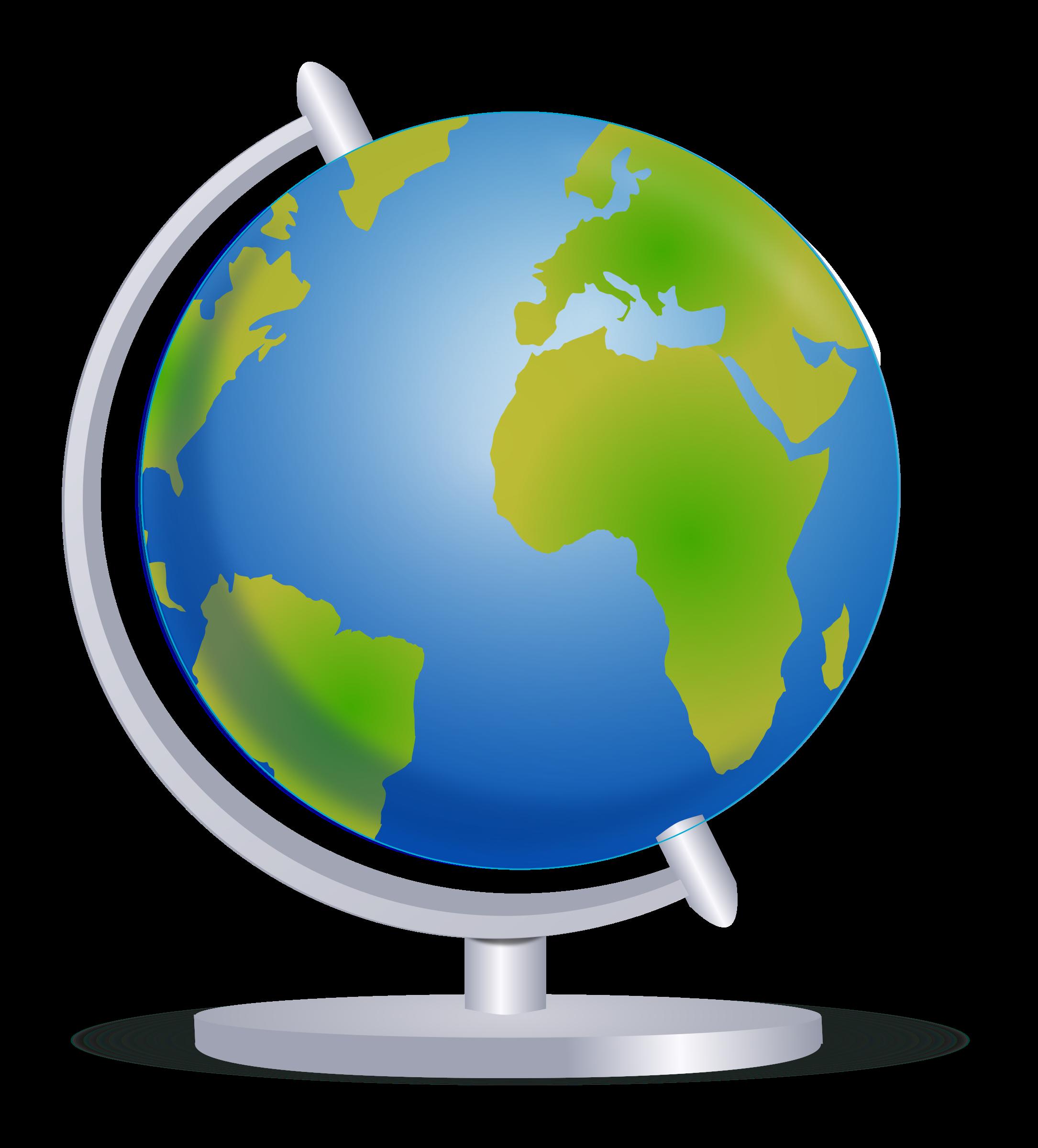 Globe Terrestre Clipart.