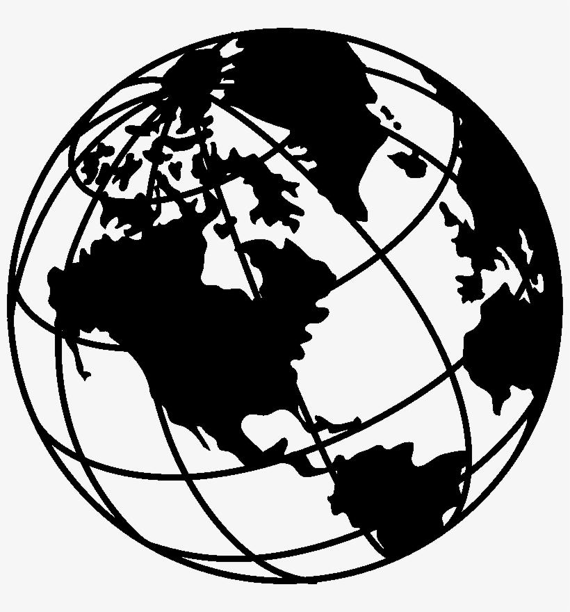 Sticker Desing Globe Terrestre.