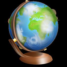 Globe terrestre Icon.