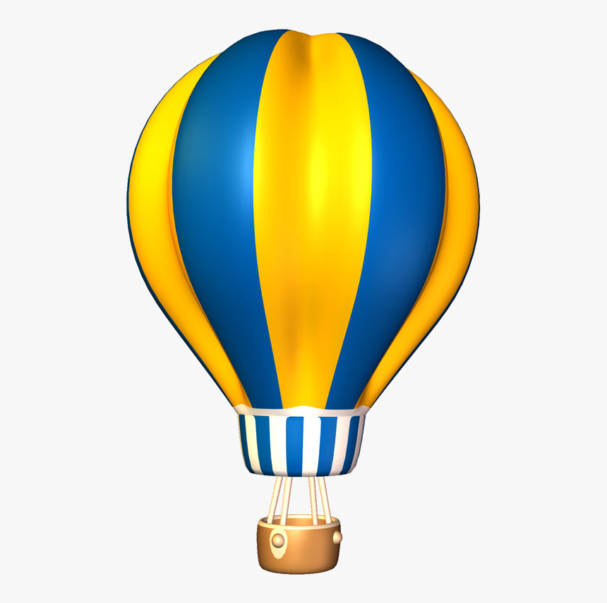 Patriotic Clipart Hot Air Balloon.