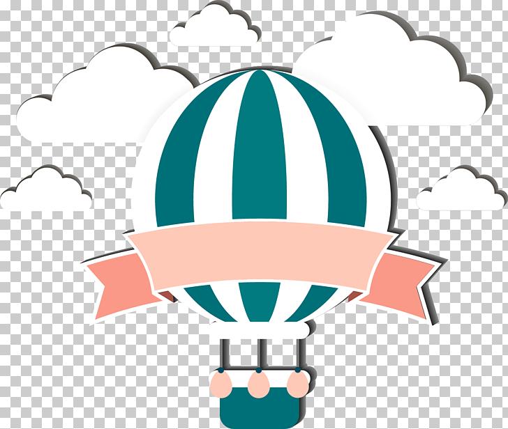 Ilustración de globo aerostático, globo aerostático, globo.
