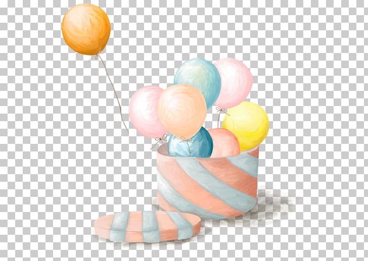 Toy balloon Birthday Photography , globo aerostatico PNG.