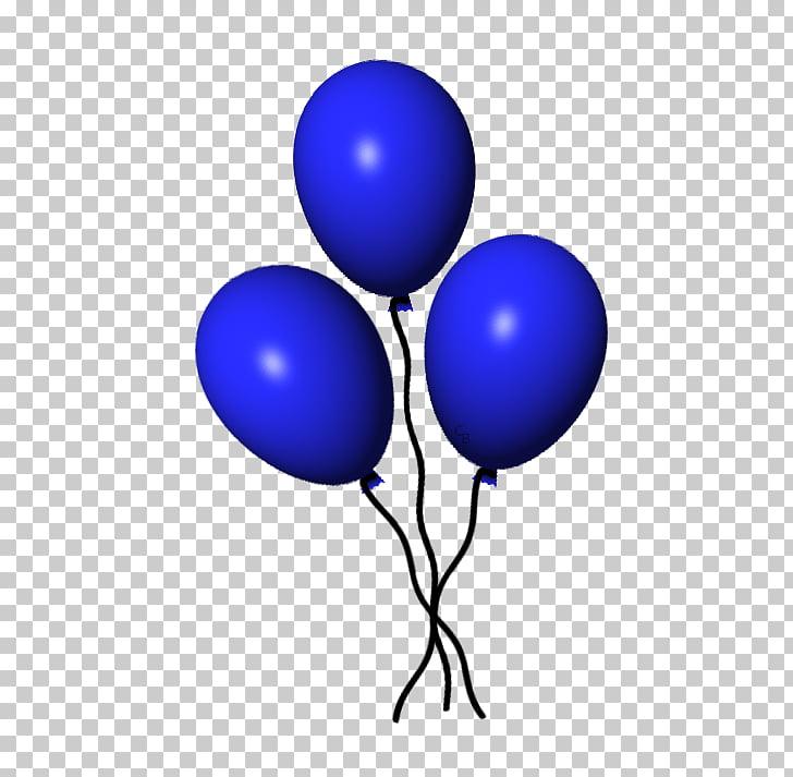 Globo azul cobalto globo PNG Clipart.