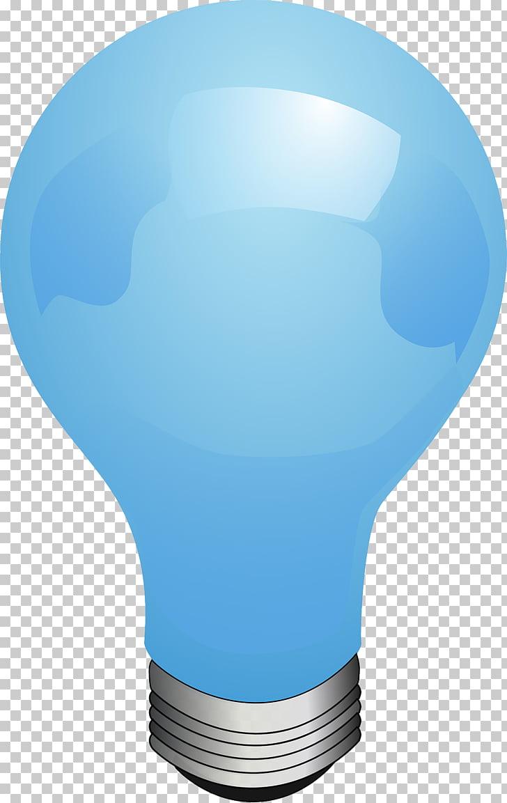 Bombilla incandescente luz eléctrica animación, globos.