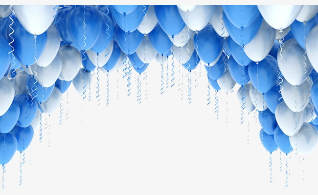 Balloon arches PNG clipart.