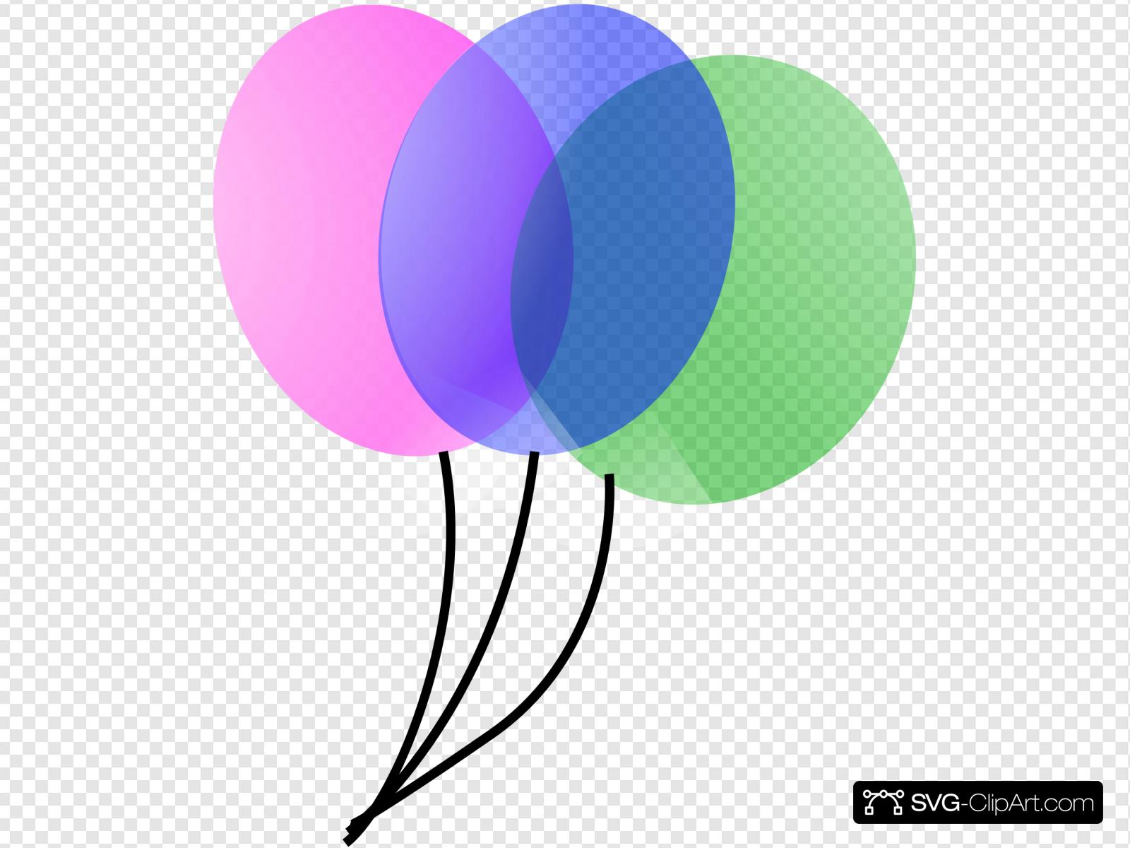 Globos Clip art, Icon and SVG.