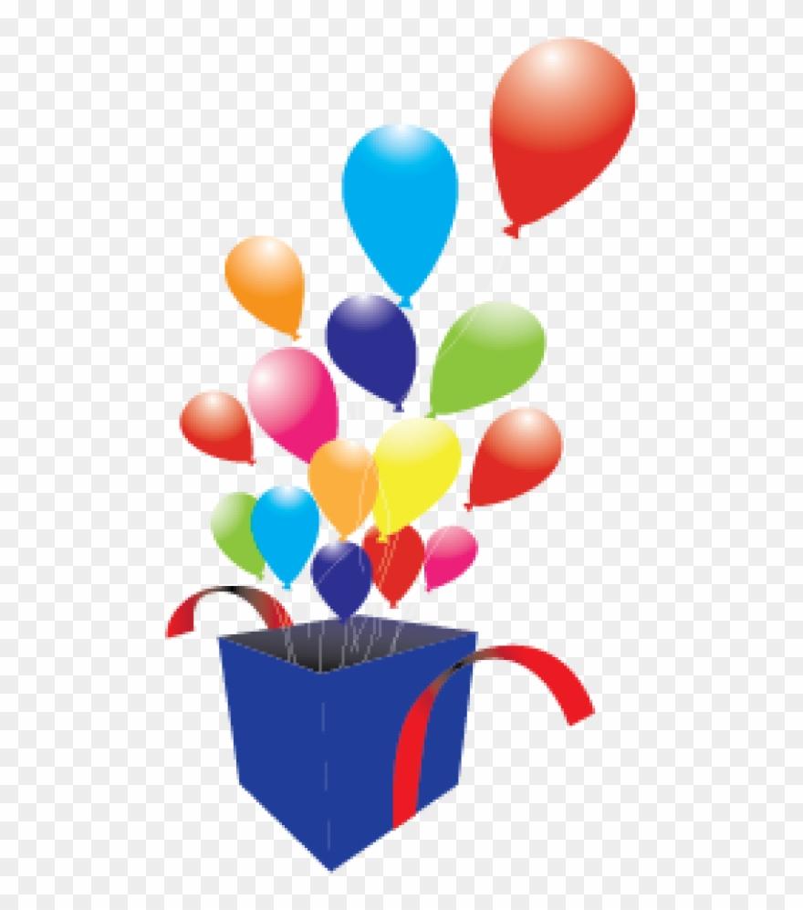 Box Clipart Balloon.