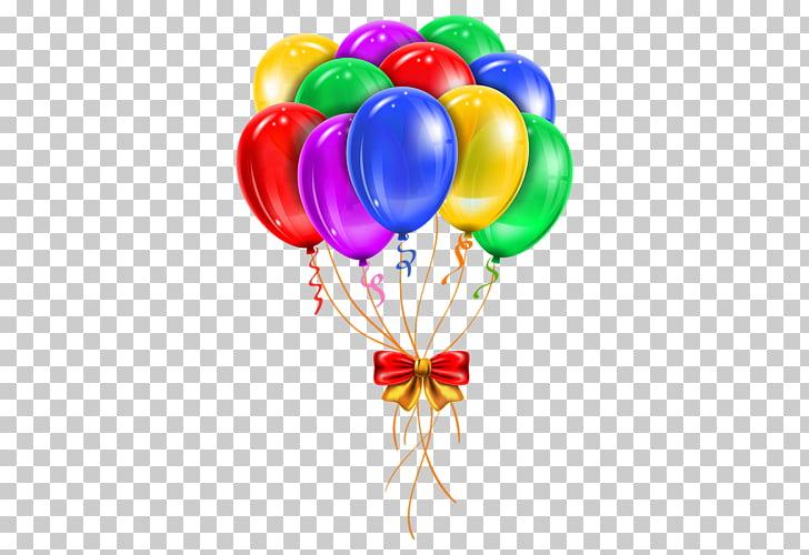 Red portátil de gráficos globo cumpleaños, globo PNG Clipart.
