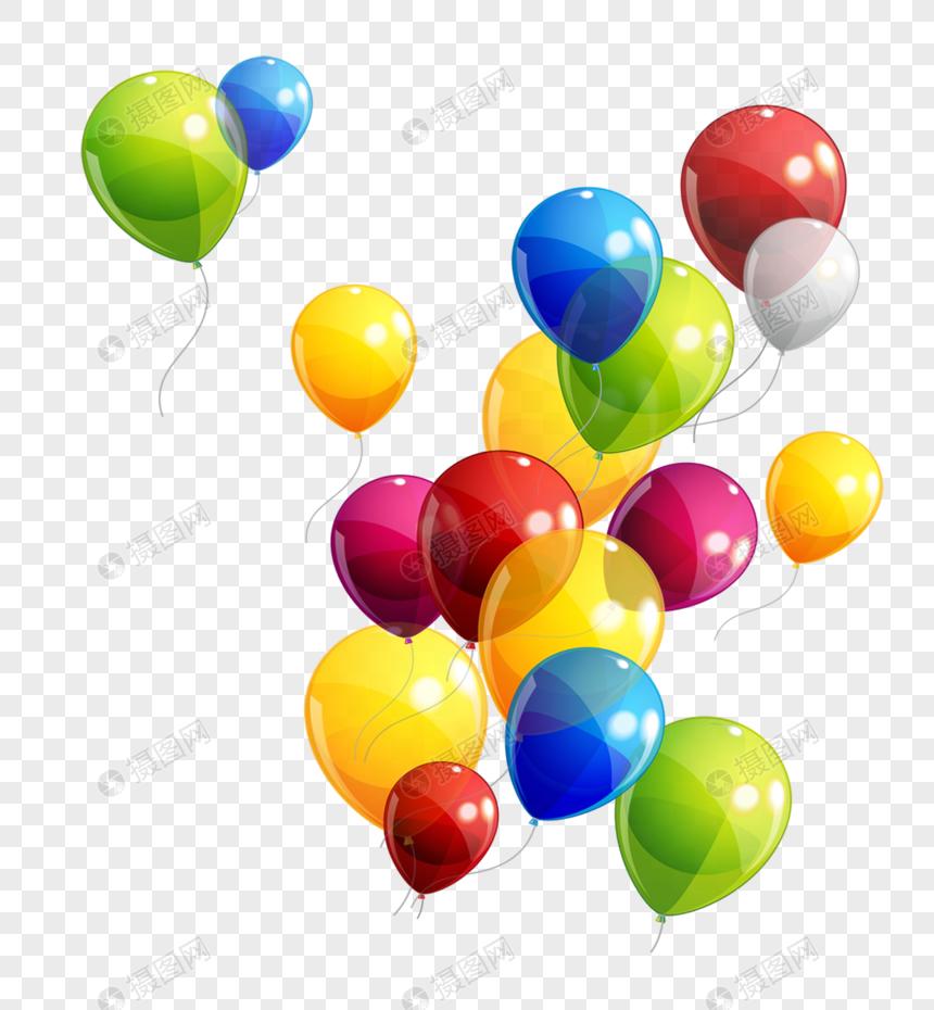 globos de colores Imagen Descargar_PRF Gráficos 400273045_PNG Imagen.