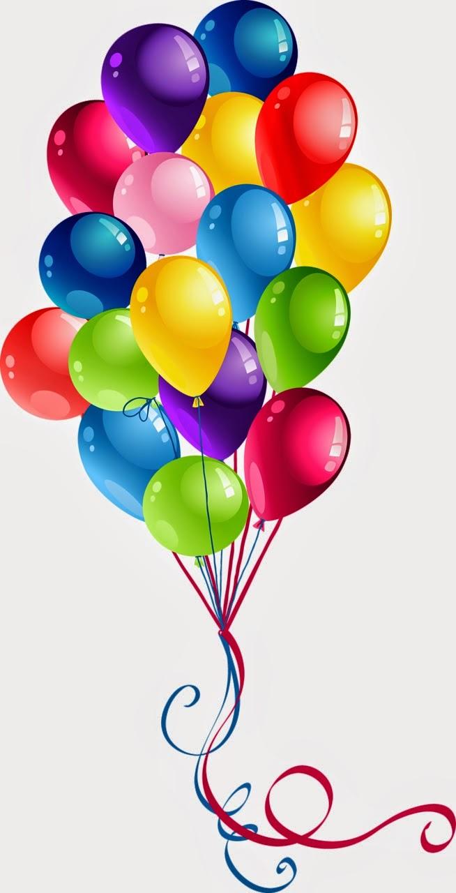 Imágenes de globos para cumpleaños.