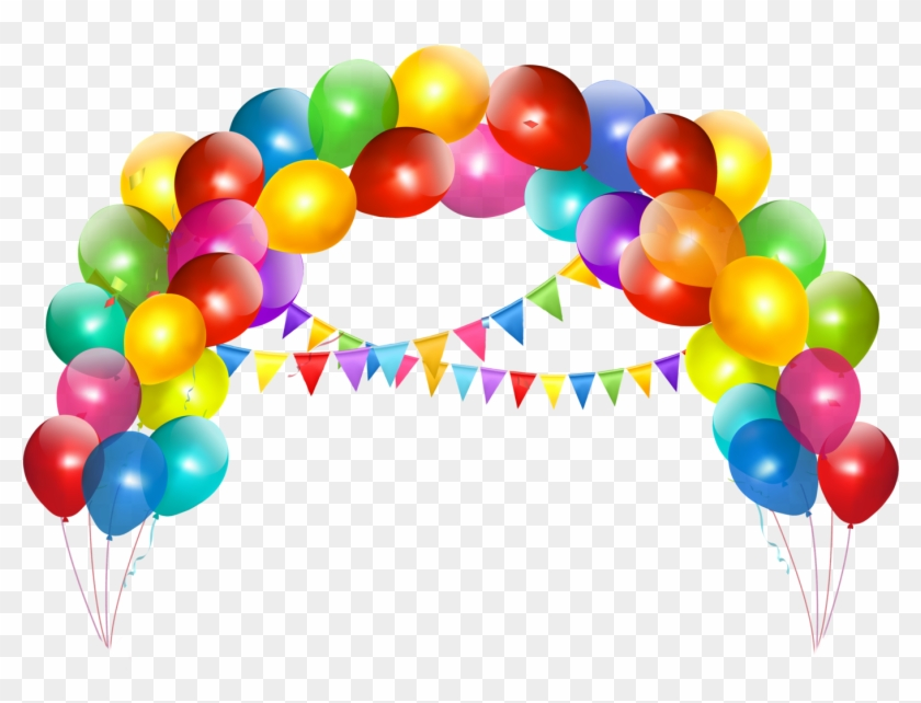 Cakes And Balloons Png.