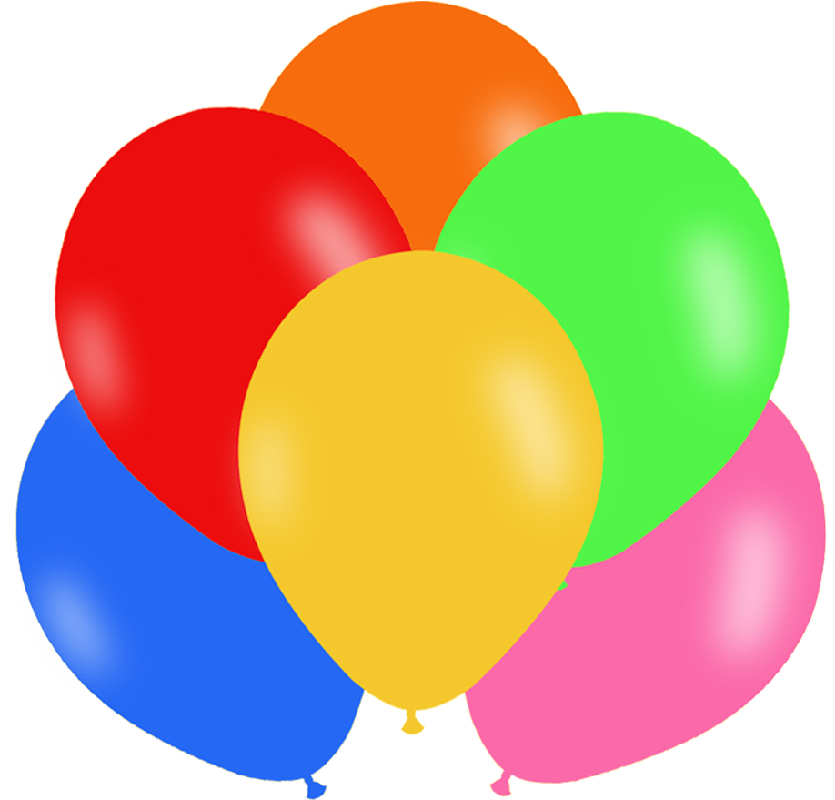 HD Moldes De Globos De Cumpleaños Transparent PNG Image Download.