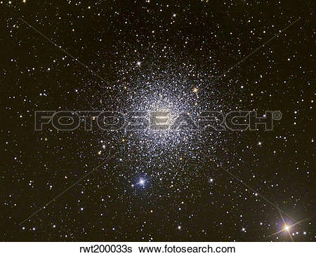 Stock Images of Messier 3, a globular cluster in the constellation.