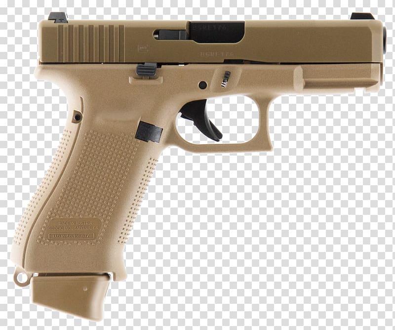 GLOCK 19 9×19mm Parabellum Pistol Firearm, Handgun.