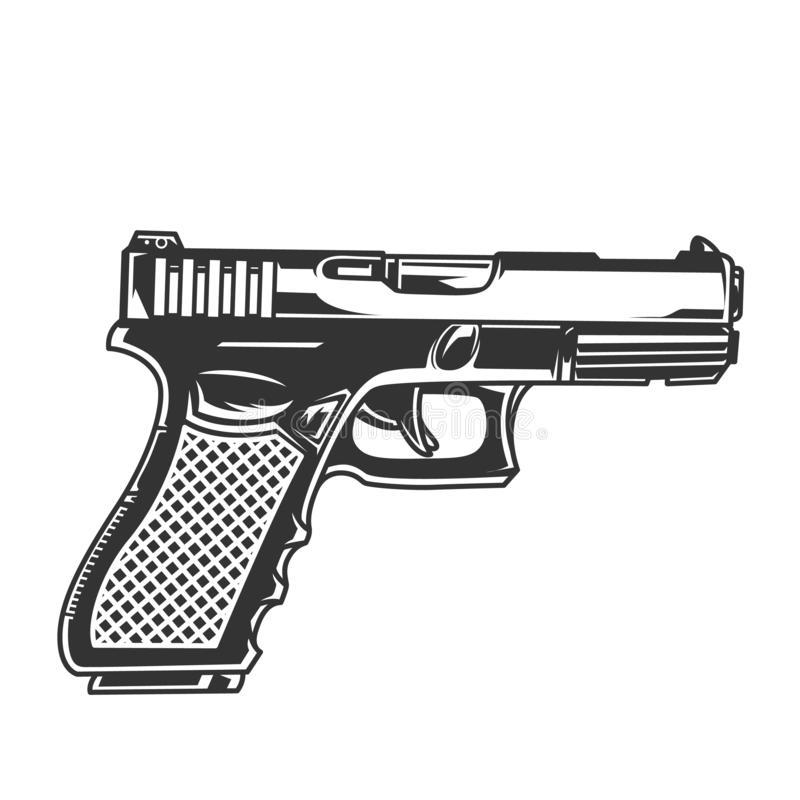 Glock Stock Illustrations.