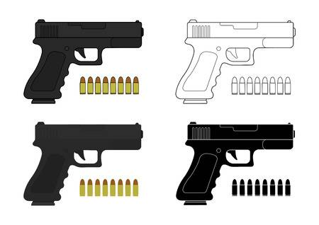 Glock clipart » Clipart Station.