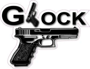 Glock Bumper Sticker.