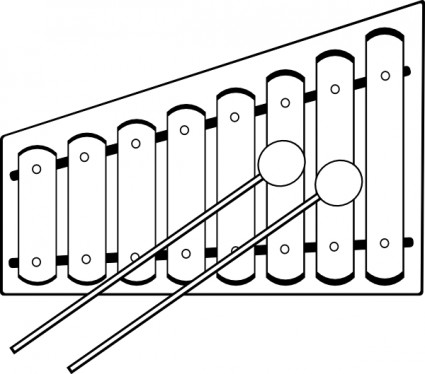 Xylophone Clip Art Download.