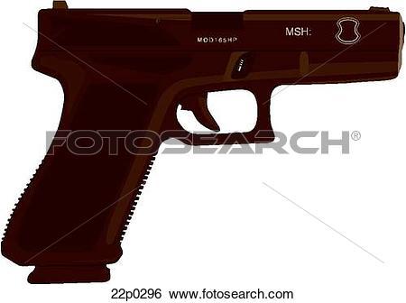 Glock Clipart EPS Images. 51 glock clip art vector illustrations.