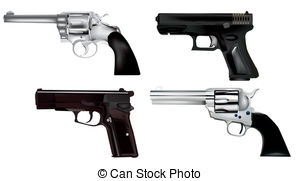 Glock Clipart Vector Graphics. 62 Glock EPS clip art vector and.