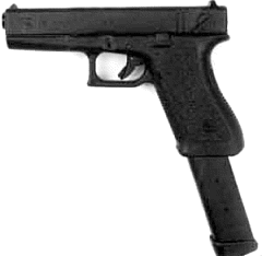 Glock M18 Clip Art Download.