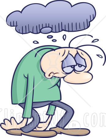 Image result for misery clipart