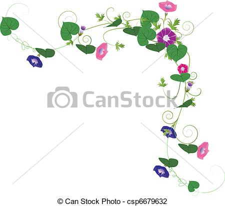Morning glory Clipart and Stock Illustrations. 378 Morning glory.