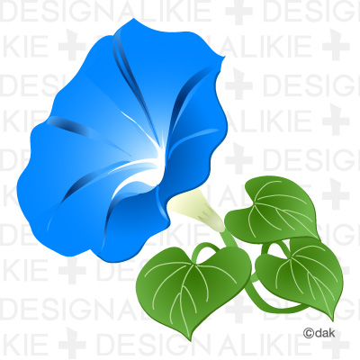Morning Glory Clipart.