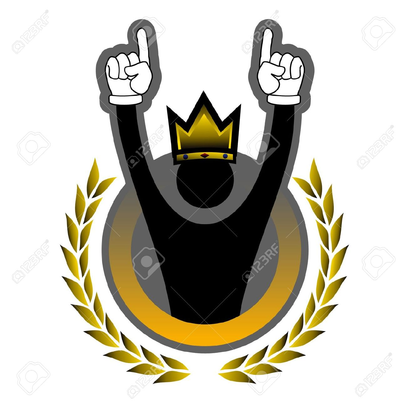 Glory Gold Winner Royalty Free Cliparts, Vectors, And Stock.