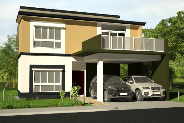 House Feature: The Greater [Four Bedroom, Double Storey Executive.