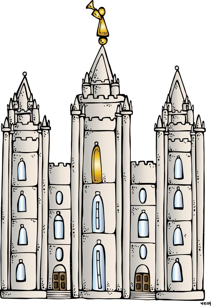 Glory temple clipart #14