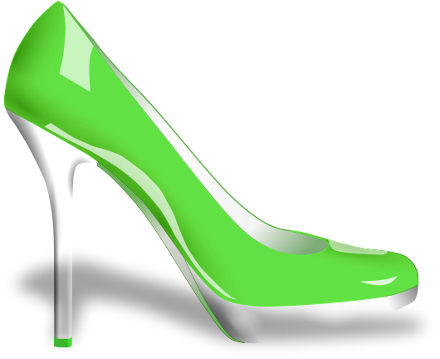 Glossy High Heels Clip Art Download.