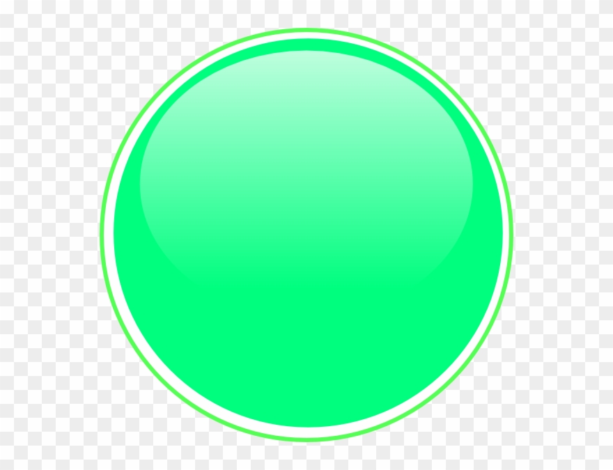 Button Clipart Lime Green.