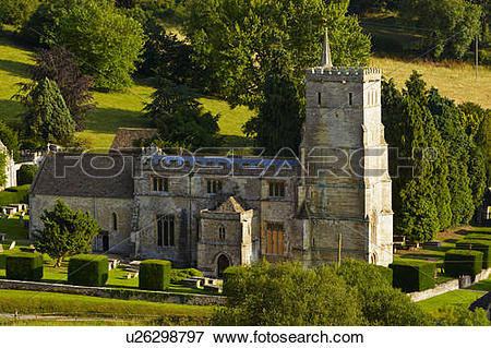 Picture of England, Gloucestershire, Hawkesbury. The Parish Church.