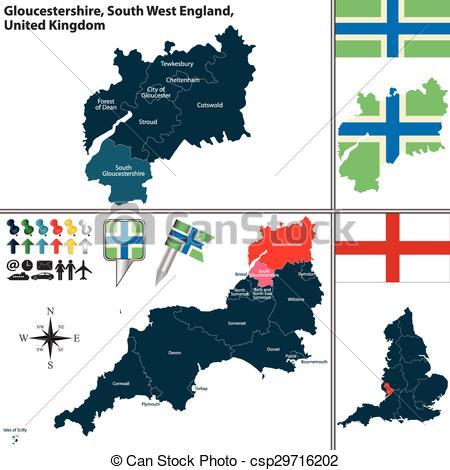 Gloucestershire clipart.