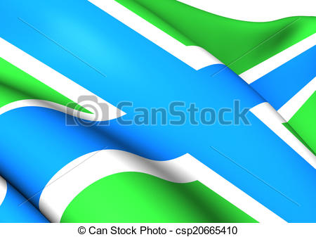 Clipart of Flag of Gloucestershire, England. Close Up. csp20665410.
